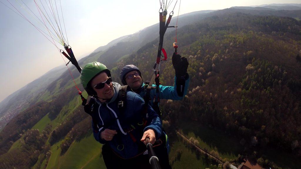 Paragliding Hessen